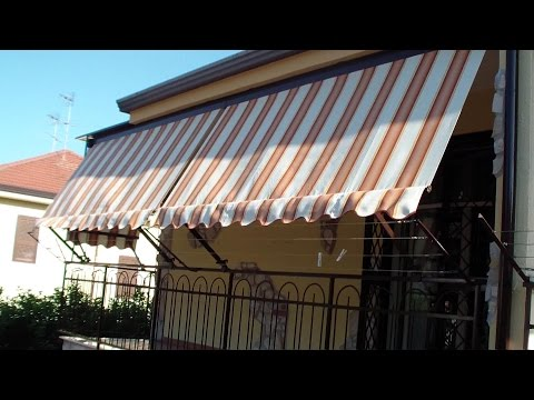 Come INSTALLARE una TENDA da sole-How to INSTALL a AWNING