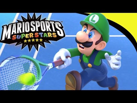 [LIVE] Mario Sports Superstars: Tennis Tournament Cups! BEST Luigi Player!