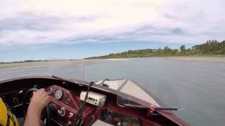preview picture of video 'waimak river  Jet boating'