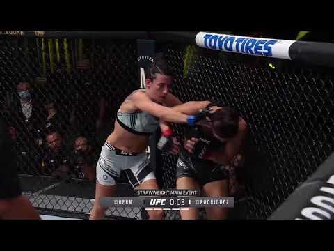 UFC Vegas 39: Dern vs. Rodriguez – highlights
