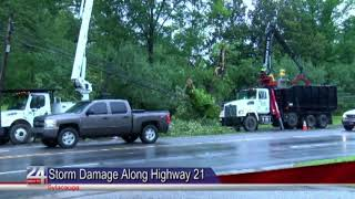 City of Sylacauga Cleaning Up After Storm Damage