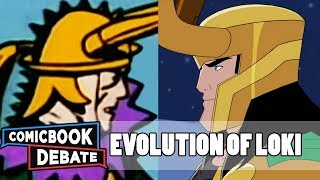 Evolution Of Loki In Cartoons In 9 Minutes (2018)