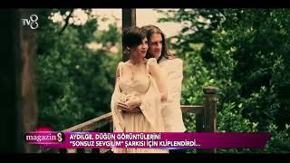 Aydilge, Düğün Görüntülerini Klip Yaptı!