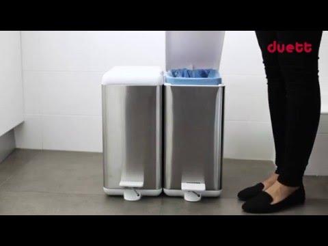 Cubo de basura duett