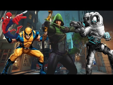 Overwatch with DC/MARVEL Superheroes?!