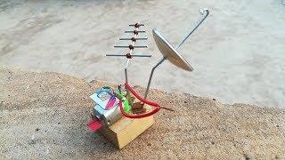 Free Energy Device catching SIM CARD Signals | Black RoboBrain