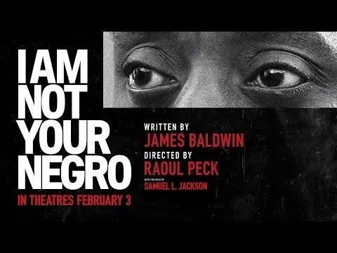 "Youtube video still for Outdoor Movie Night: <br> ""I Am Not Your Negro"""