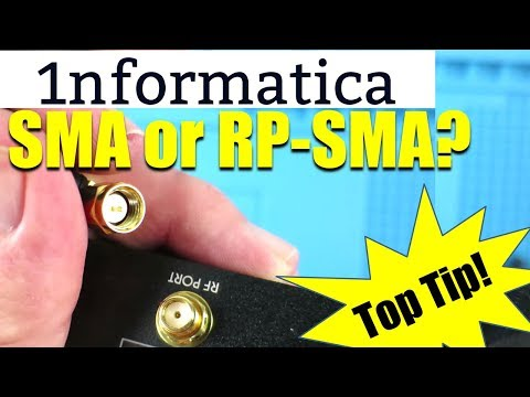 SMA / Reverse-Polarity RP-SMA RF Connector Differences Explained Electronics Tutorial Banggood Parts