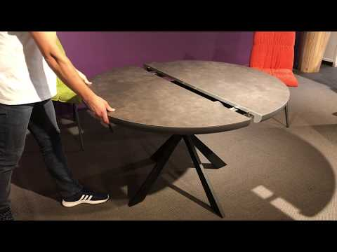 VIDEO TABLE RONDE CERAMIQUE