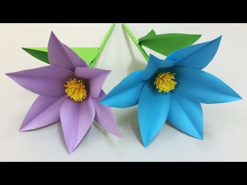 How to make easy and beautiful paper flower making paper flowers how to make beautiful flower with paper making paper flowers step by step diy paper flowers mightylinksfo