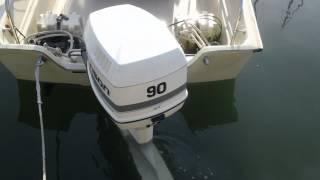 johnson outboard 90hp first start how to start an outboard part 1 rh novom ru Johnson 200 Ocean Runner Parts 150 HP Johnson Ocean Runner