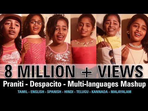 Praniti Despacito Multi Languages Mashup Praniti Official Video