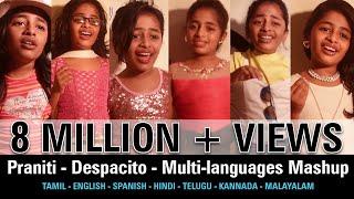 #Praniti    #Despacito   Multi-languages Mashup [ Praniti Official Video]