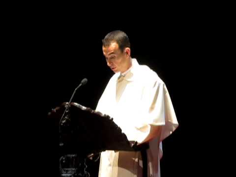 Pregón Semana Santa 2013, por Fray Ismael Maroto