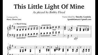 This Little Light Of Mine| Blues Transcription