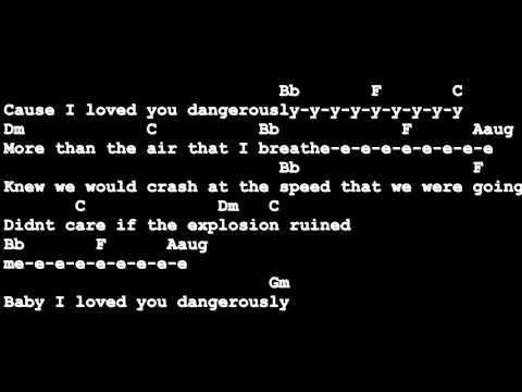 Dangerously - Charlie Puth [Lyrics And Chords] Guitar Tutorial Mp3