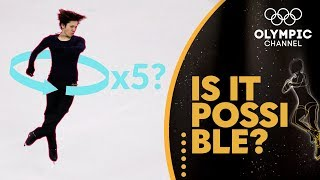 The Quintuple Jump in Figure Skating (ft. Shoma Uno) | Is It Possible?