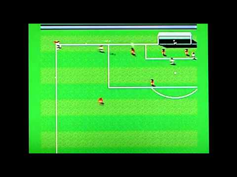 Sensible Soccer on Acorn Archimedes A3010. Gameplay & Commentary