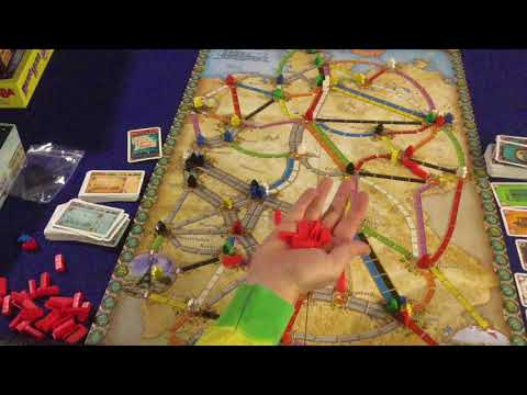 Bower's Game Corner: Ticket To Ride: Germany Review