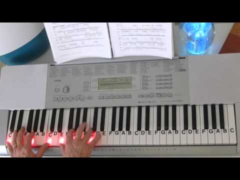 How To Play ~ How Great Is Our God ~ Chris Tomlin ~ LetterNotePlayer ©