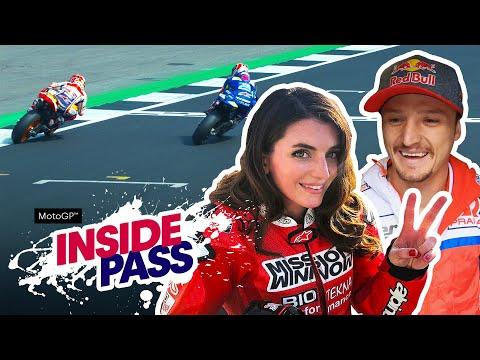 MotoGP 2019 Great Britain: 300km/h On The Ducati X2 Takes Vanessa's Breath Away   Inside Pass #12