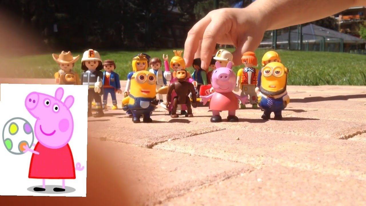 Peppa Pig, los Minions y las profesiones.