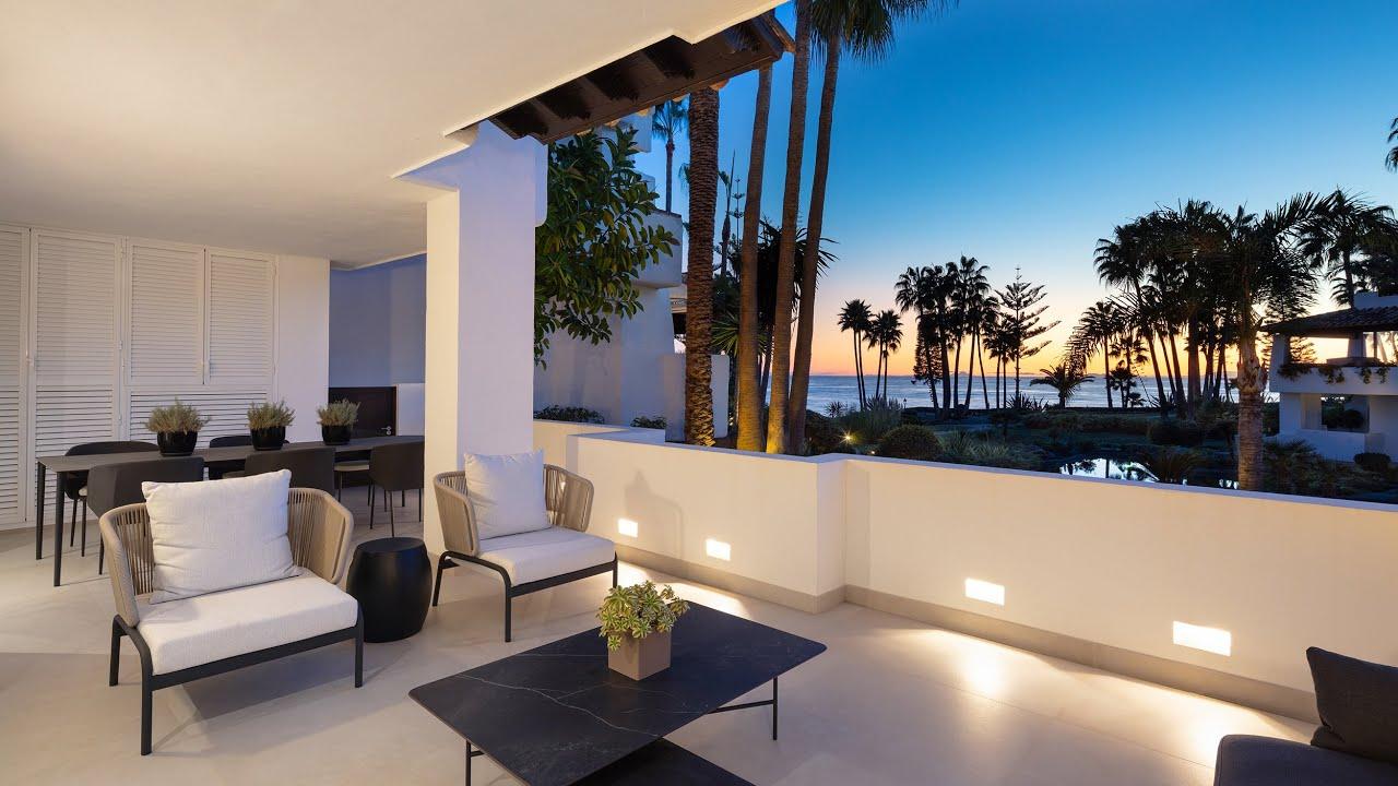 Prachtig gerenoveerd, gelijkvloers luxe appartement, Puente Romano, Marbella