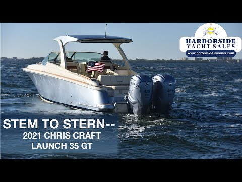 Chris-Craft 35 Launch GT video