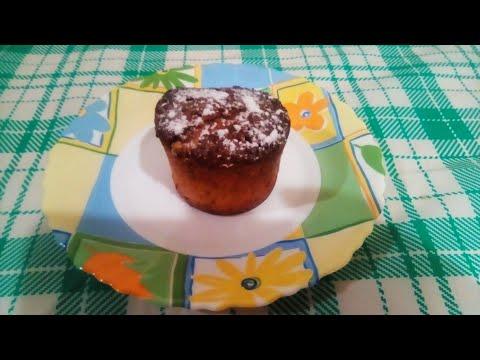 Кекс Апельсиновый от Луча. 橙色蛋糕, Orange Cupcake. नारंगी कप केक