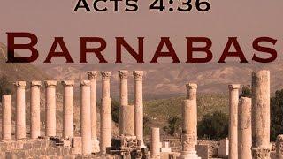 Barnabas - Sunday October 30th 2016