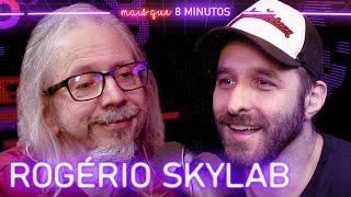 Rogério Skylab no podcast Rafinha Bastos