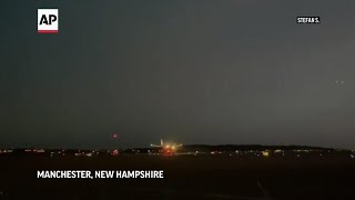 VP Pence's plane makes emergency landing in NH