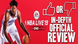 NBA LIVE 19 OFFICIAL REVIEW | EVERYTHING YOU NEED TO KNOW | BUY OR SKIP?