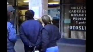preview picture of video 'Břeclav 1989 - sametová revoluce 1.část'