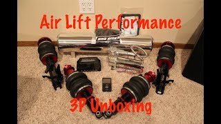 Air Lift Performance 3P Unboxing// BagRiders