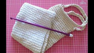 Easy Crochet for absolute beginners. crochet an easy bath scrubby.