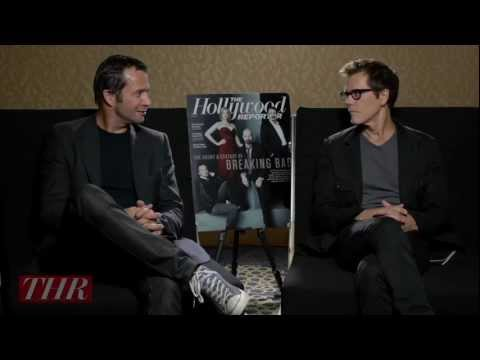 Kevin Bacon and James Purefoy on 'The Following'