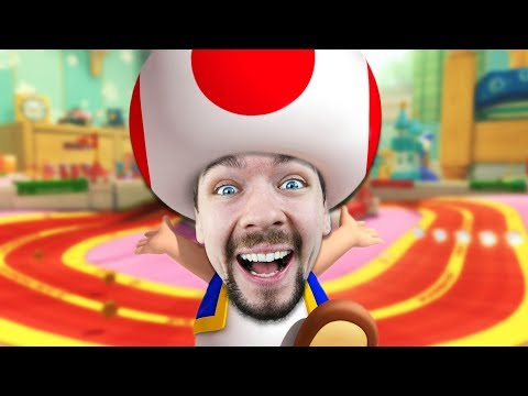 TOAD'S GOT SOME MOVES   Mario Kart 8 Deluxe #3