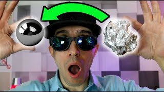 DIY Aluminum Foil Mirror Ball Challenge - How To Make the Japanese Polishing Mirror Ball - Video Youtube