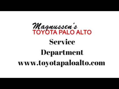 Toyota Of Palo Alto Service Department Experience