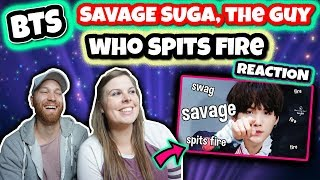 SAVAGE SUGA, The Guy Who Spits Fire #AGUSTD  BTS Reaction