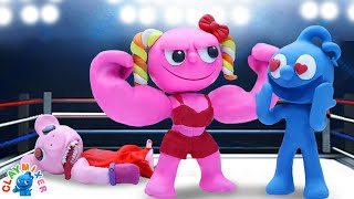 Tiny Wants To Taste The Muscle - Stop Motion Animation Short Film