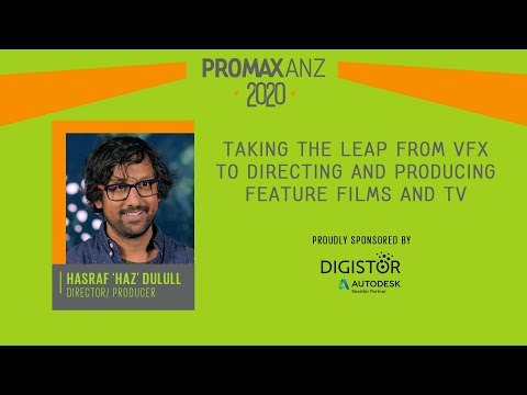 Promax ANZ Webinar – Taking the leap from VFX to Directing and Producing Feature Films and TV