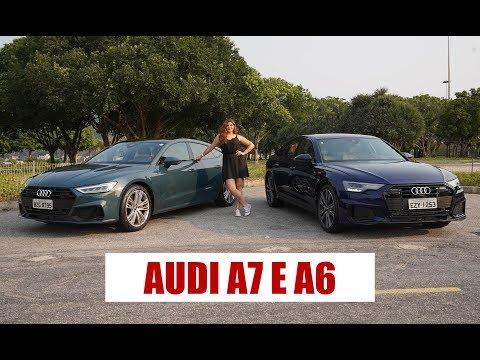 NOVOS AUDI A6 e A7 - com Camila Camanzi