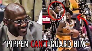 When Michael Jordan Watched A Young Kobe DESTROY Scottie Pippen