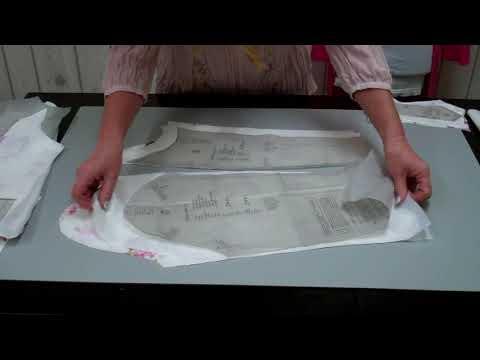 DIY Damen Jacke Teil 1 Zuschnitt und Vorbereitung - Lilo Siegel