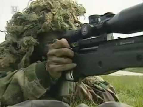 Снайперы Королевской Морской пехоты 1ч.
