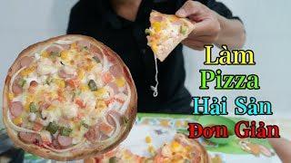 Download Video Lâm Vlog - Làm Bánh Pizza Hải Sản Đơn Giản MP3 3GP MP4