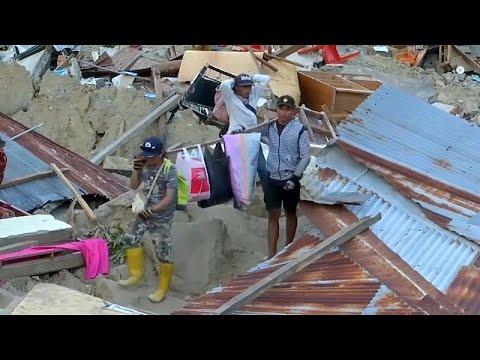 Ινδονησία: Mάχη με το χρόνο για τον εντοπισμό επιζώντων …