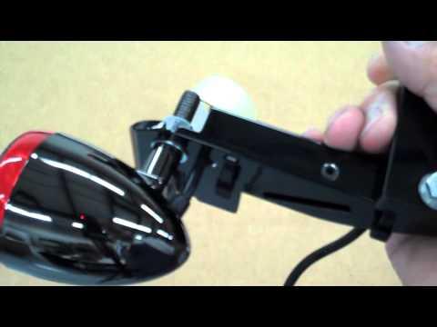 Honda Shadow VLX 600/400  Black Nickel Signal Lights